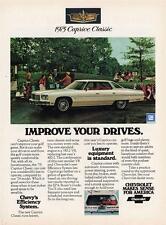 Old Print. 1975 Chevrolet Caprice Classic Sport Sedan - IMPROVE YOUR DRIVES