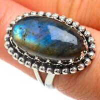 Labradorite 925 Sterling Silver Ring Size 7 Ana Co Jewelry R41652F
