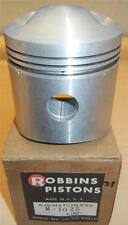 "1956-1959 Matchless G80CS 500cc NOS 86mm +.060"" bore Robbins bare piston ONLY-31"