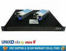 Quanta LB8 10GB 48-Port SFP+ Switch Dual Power Supply + Rack Ears Included
