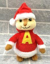 Alvin & The Chipmunks Christmas Santa TY Beanie Soft Toy 2011