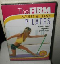 The Firm Sculpt & Tone Pilates 2006 New Sealed DVD Alison Davis Free Shipping