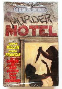 MURDER MOTEL (1975) THRILLER Video ~ BRAND NEW Factory Sealed BETA TAPE ~BIG Box