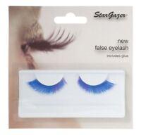 Stargazer False Feather Eyelashes #50 Blue with Purple Accents