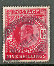 GB 1902 5/- used A026