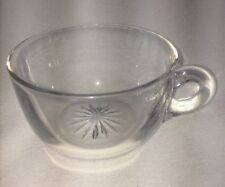 Vintage Heisey Clear Glass Replacement Punch Cup Coffee Cup Tea Cup
