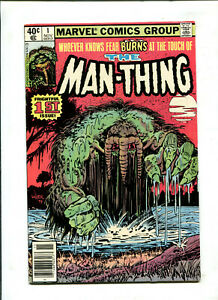 THE MAN-THING 1 FRIGHTFUL 1ST ISSUE (7.0) 1979