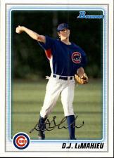2010 Bowman Baseball Prospects #BP110 D.J. LeMahieu Chicago Cubs