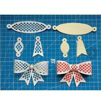Matrice de coupe en métal de conception de noeud papillon 6 pièces pour papieMFU