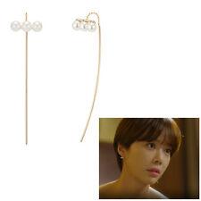 J.ESTINA Perla Cùrva L'arte Earring <Lucky Romance 好运罗曼史> SV925(Y.G plated)