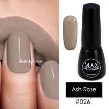 MAX 7ml Nail Art Color UV LED Soak Off Gel Polish #026-Ash Rose