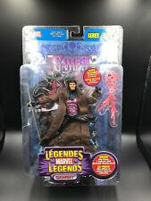 """Marvel Legends X-Men GAMBIT - BLUE FOIL 6"""" Action Figure ToyBiz Series 4 RARE"""