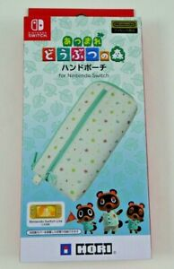 HORI Animal Crossing New Horizons Hand Pouch for Nintendo Switch & Lite NSW-239