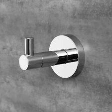 Stainless Steel Brushed Nickel Bathroom Towel Coat Hooks Dual Robe Hook Hanger