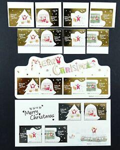Hongkong 2020 Weihnachten Christmas Nikolaus Natal Komplett MNH