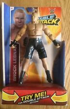 New Mattel WWE Wrestling Figures Brock Lesnar (2014) & Sami Zayn (2017)