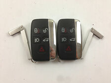 LOT OF 2 LAND ROVER LR2 LR4 DISCOVERY 10-15 SMART KEY LESS REMOTE WITH UNCUT USA