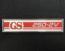 GS 250 2V XA-XB-XC RED DIE-CAST CONSOLE BADGE CUSTOM CAR INTERIOR FORD FALCON