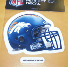 NFL DENVER BRONCOS 4X4 PERFECT CUT DECAL AUTO NEW
