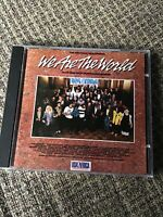 USA FOR AFRICA WE ARE THE WORLD 1985 CD RARE POLYGRAM USA PRINT OOP 10TRX