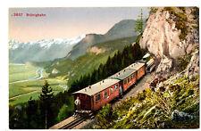 CPA Suisse Centrale Brünigbahn train