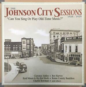 The Johnson City Sessions 1928-1929  Bear Family 4CD box set  2013 NM
