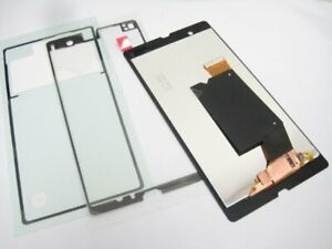LCD display + Touch screen +Glue For Sony Xperia Z C6602 LT36i L36H C6603