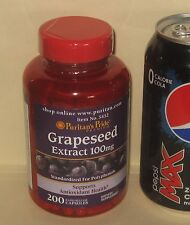 LARGE (200ct) Grapeseed Extract, Standardized for Polyphenols, 100 mg each