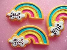 8pcs Rainbow Resin Sweets cabochon flatback Cell Phone Decorations