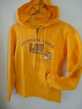 JANSPORT LSU Louisiana State University Tigers Hoody Juniors Medium Slim Fit Zip