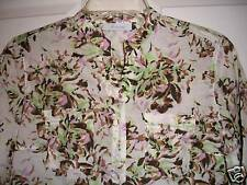 NWT JH Collectibles Women's Size S Petite Cotton Woven Work Shirt Top Blouse PS