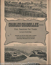 First American Fur Trader - Charles Chaboillez