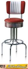 BS-28-CB Ruby Bel Air American Catering bar Stool Diner Counter bar USA