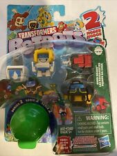 TRANSFORMERS BOTBOTS SERIES2 5PACK SHED HEADS GRRR'ILLA GRIMES TOOLBAG HAWTMESS