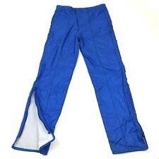 Vintage Birdie Pantalon Taille S Adulte Bleu Golf Nylon Monochrome 80's USA