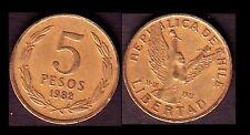 ★★ CHILI / CHILE ● 5 PESOS 1982 ● E3 ★★