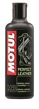 MOTUL MC CARE ™ M3 Perfecto Cuero Crema Limpiadora Protectora 250ml Tubo