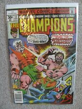 1976 Marvel CHAMPIONS #12 Hercules VG/F Bagged & Boarded