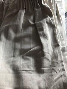 Very Good Quality curtains x 2 pairs VGC 129cm W X 134 Cm L