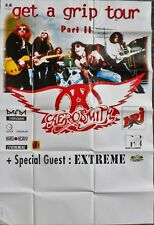 RARE poster MANIFESTO AEROSMITH get ha grip tour 1993 - 110 X 150 CM