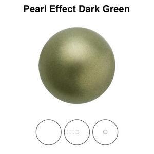 Genuine PRECIOSA 131 10 012 Round MAXIMA Nacre Pearls Half Drilled * Many Colors