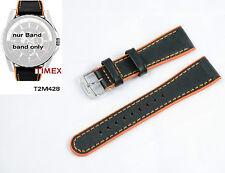 Timex Ersatzarmband T2M428 Retrograde T2M429 T2M430 T2M431 22mm Ersatzband Leder