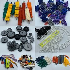 Huge Lot KNEX loopin lightning coaster Building Toy Parts Tires Rods Connectors