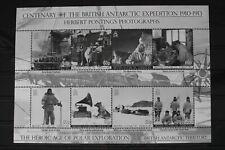 Britische Gebiete in der Antarktis 537-544 ** postfrisch als Kleinbogen #WJ372