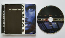 ⭐⭐⭐⭐ Black Friday - The Finest in R&B ⭐⭐⭐⭐ 16 Track CD 2002 ⭐⭐⭐⭐