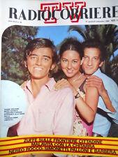 Radio Corriere TV n°35 1969 Goffredo Petrassi -  La sqaudra di ALBA [C72]