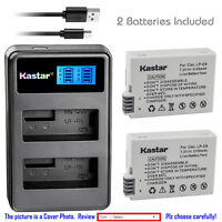 Kastar Battery LCD Dual Charger for Canon LP-E8 LC-E8 Canon EOS Rebel T3i Camera