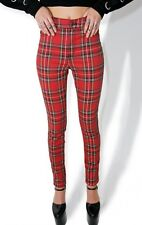 Dolls Kill SOLD OUT Tripp NYC Plaid Pants Size 29/9