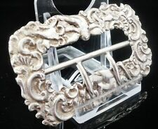 Silver Buckle, Rosenthal, Jacob & Co, c.1885