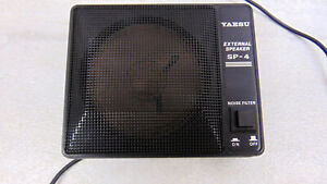 Yaesu SP-4 Mobile Speaker with Built-in Noise Filter but no bracket, Tested OK